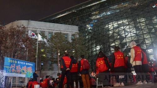 전철협,12월23일 철거민과함께하는 촛불성탄예배